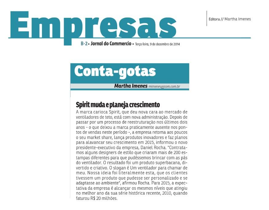Mídia 2014 09.12.14 - Jornal do Commercio