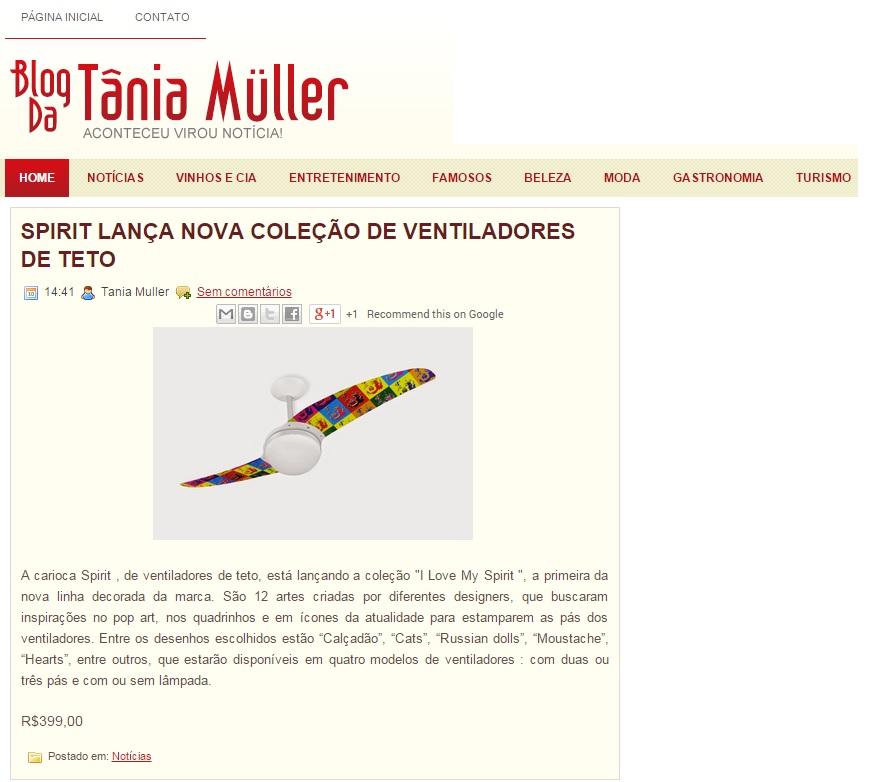 Mídia 2014 26.11.14 - Blog da Tânia Mulher