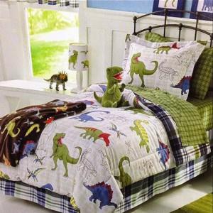Jogo de cama dinossauro