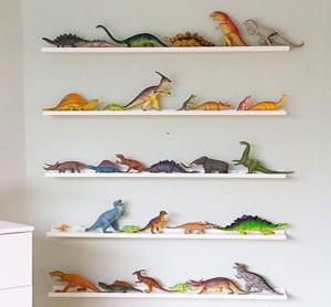 Estante dinossauro