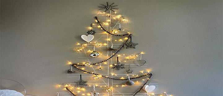Decoração minimalista de Natal