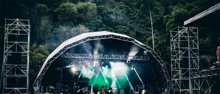 Festival de música em Itaipava