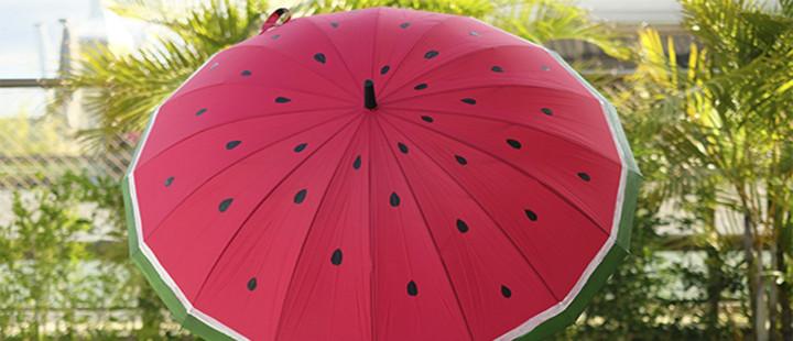 Guarda-chuva de melancia