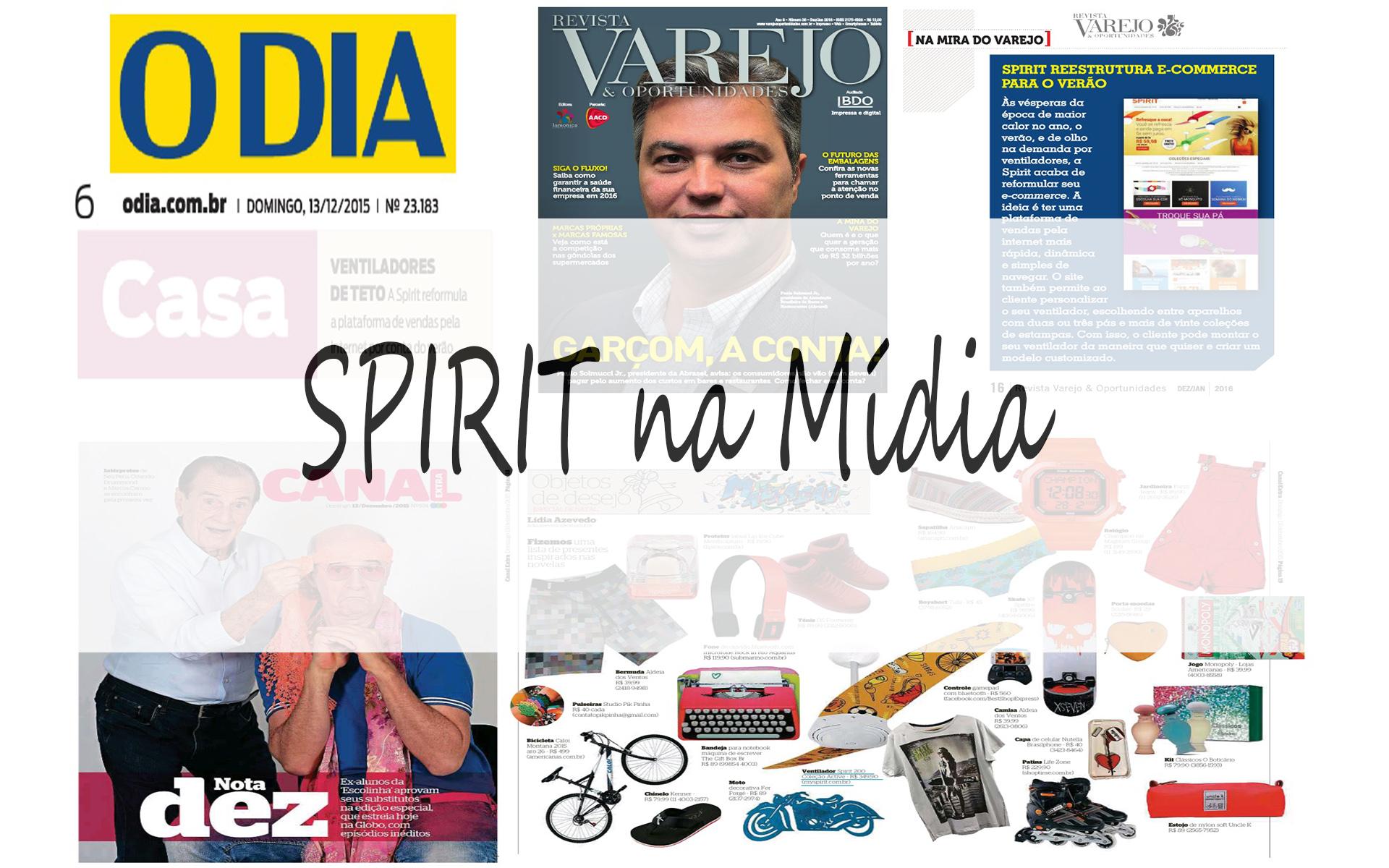 SPIRIT na mídia capa