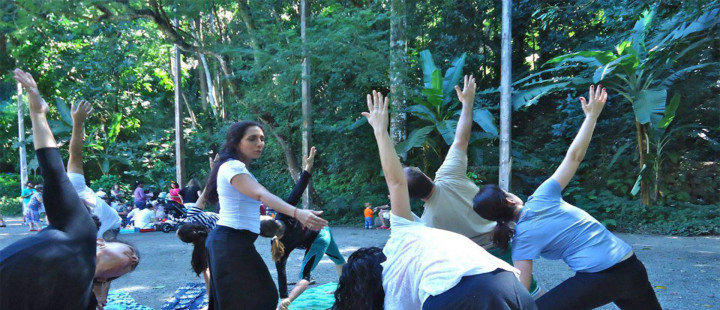 Yoga no Parque Lage