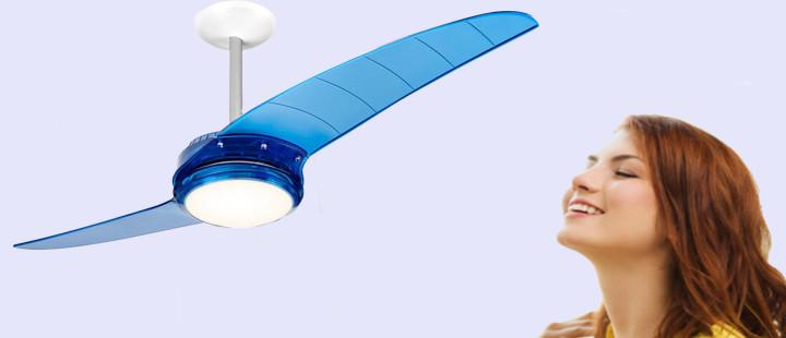 Ventilador SPIRIT e temperatura do ambiente