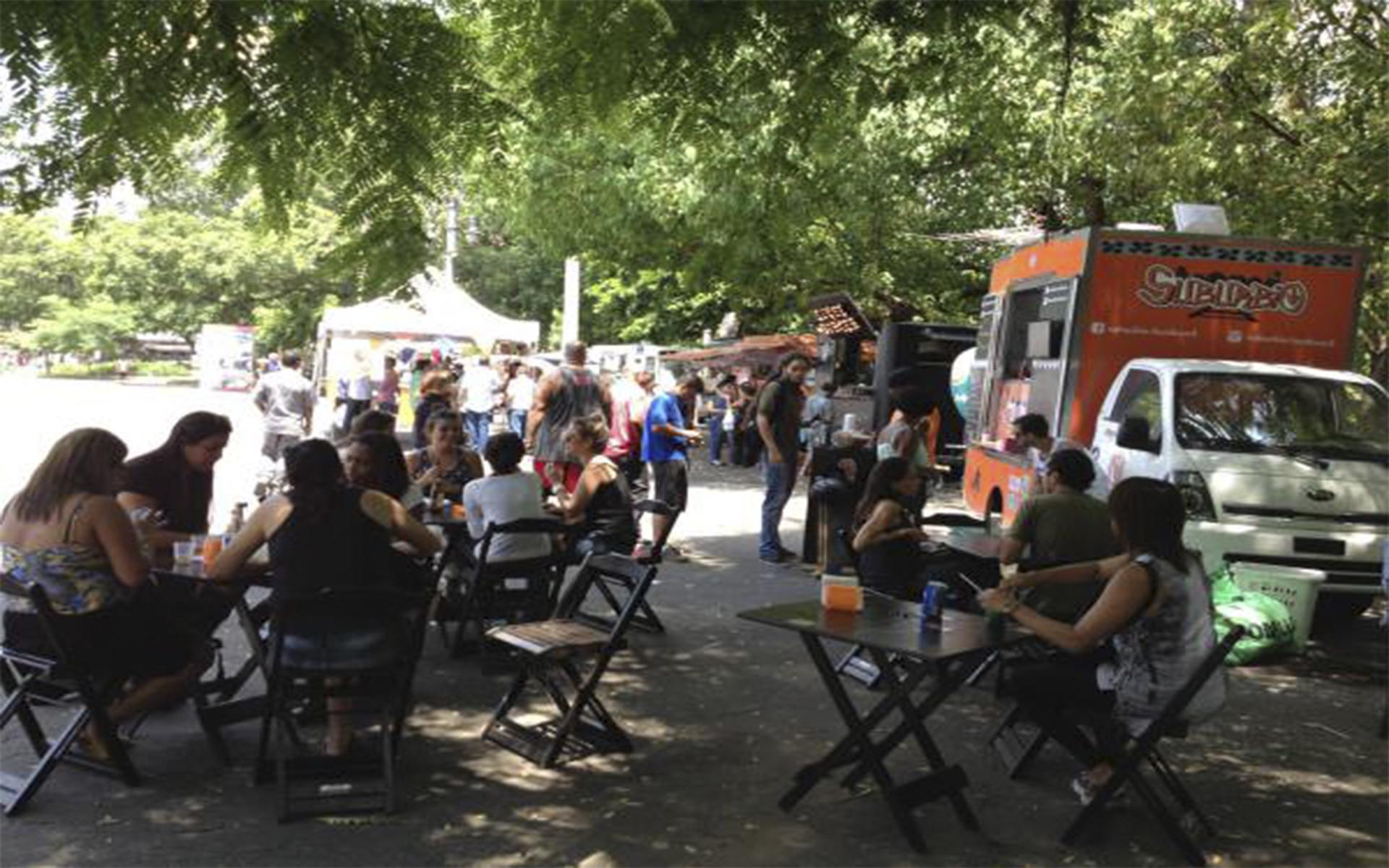 Festival gastronômico Campo de Santana