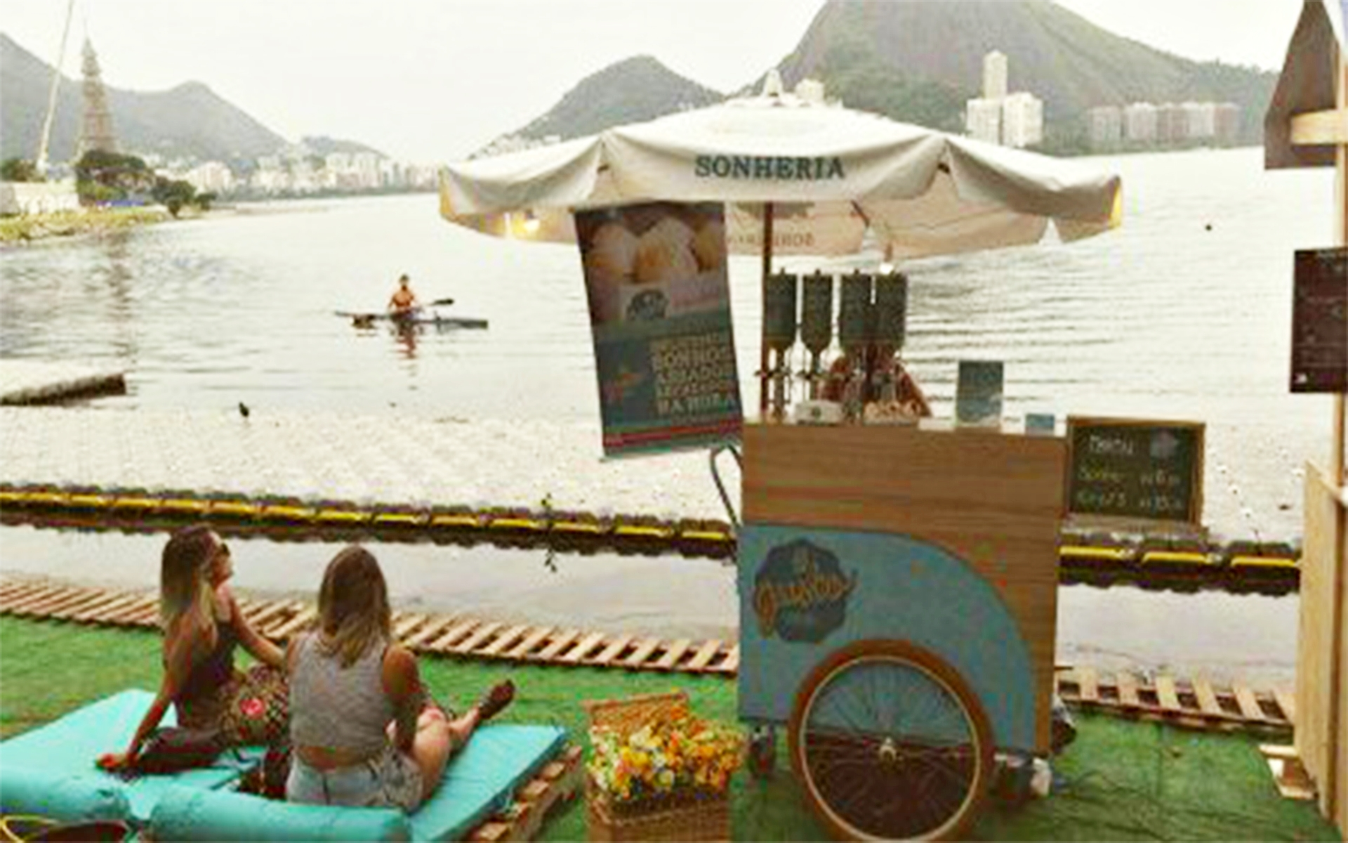 Food bikes na Lagoa