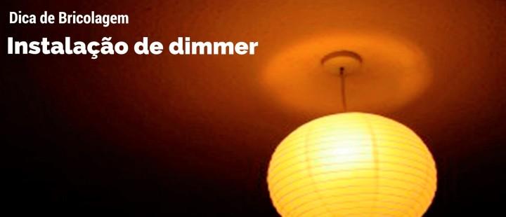 Instalação de dimmer