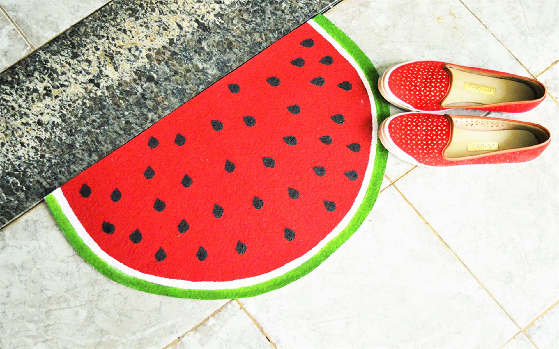 Tapetinho de melancia