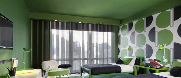 Ventilador de teto Spirit - Blog myspirit - cor verde na decoração