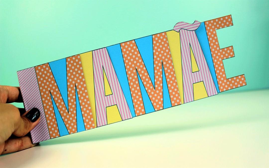 Cartão Mamãe