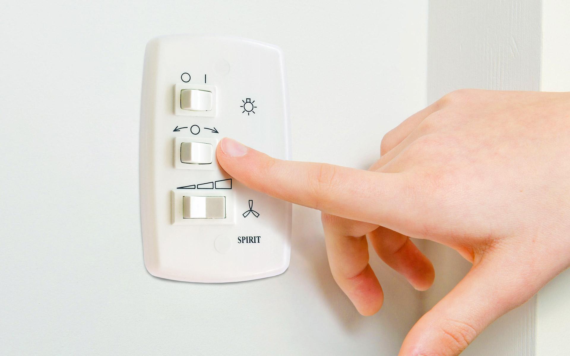 Como instalar interruptor de ventilador de teto