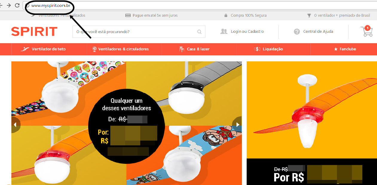 Site do Spirit