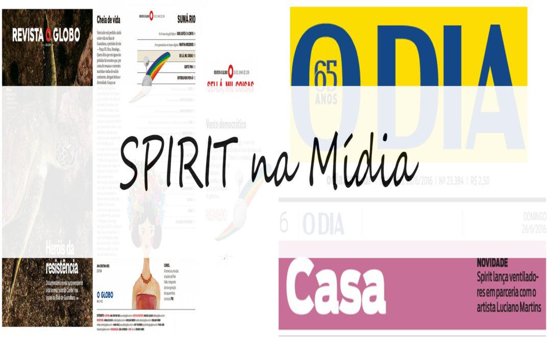 Spirit na mídia
