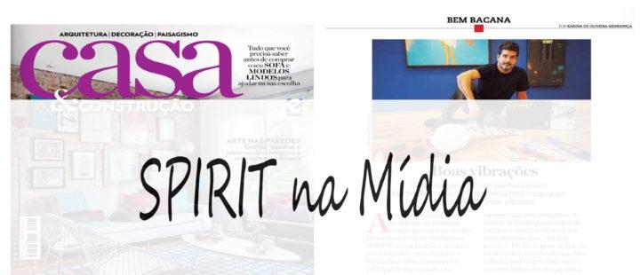 Coleção SPIRIT Luciano Martins na Revista Casa & Construção