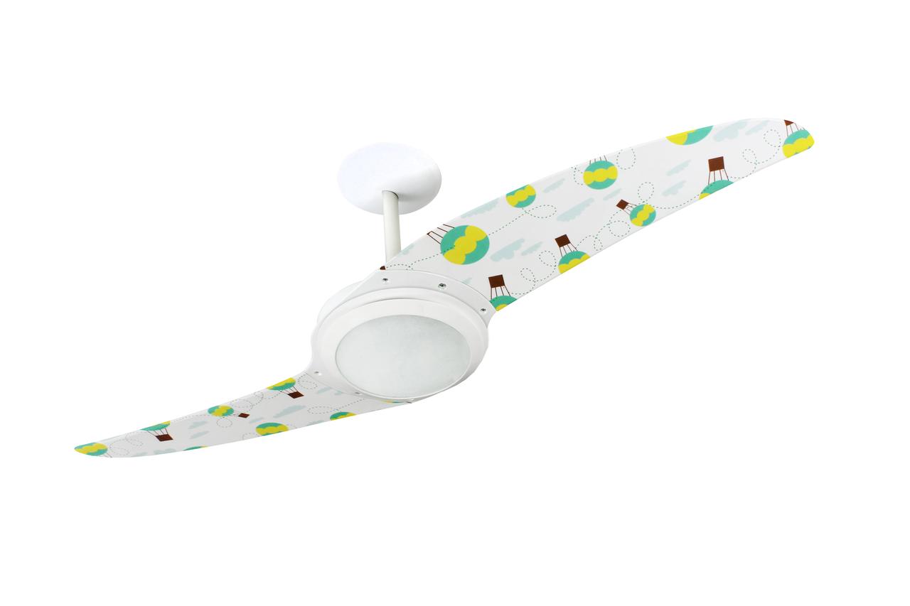 Ventilador de teto para quarto de bebês