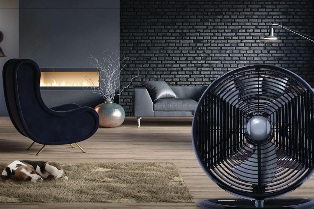 Ventiladores e luminárias Spirit - Blog Myspirit - circulador de ar SPIRIT Maxximos- ventilador de mesa