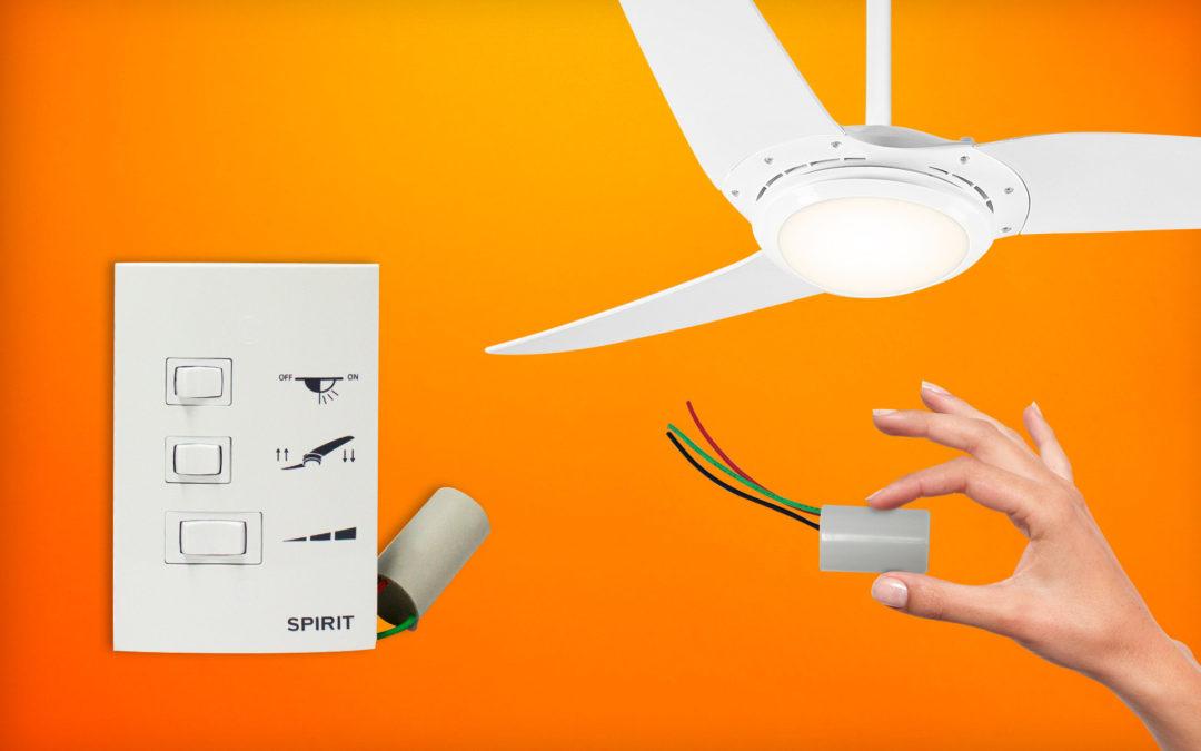 Ventiladores e luminárias Spirit - Blog Myspirit - quando trocar o capacitor do ventilador de teto - capacitor