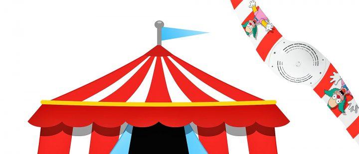 SPIRIT na mídia em matéria sobre circo