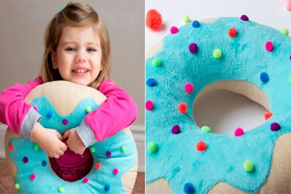 Como fazer Almofada de Donuts