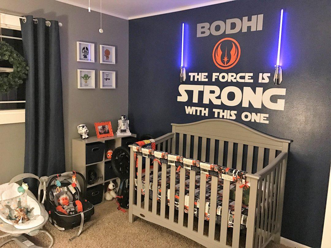 Como decorar um quarto de bebê com o tema Star Wars