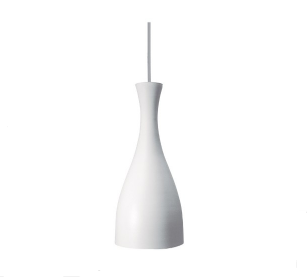 Luminária pendente branca