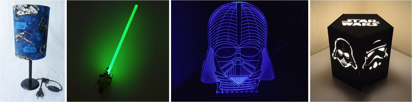 Ventilador de teto Spirit - Blog myspirit - Luminárias - Star Wars