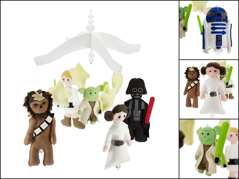 Ventilador de teto Spirit - Blog myspirit - Móbile berço de bebê - Star Wars