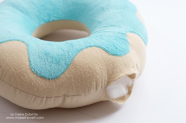 Molde 10 da almofada de donuts
