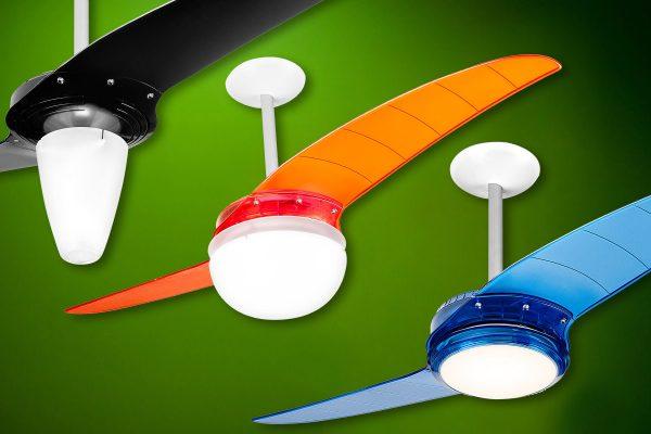 Ventilador de teto Spirit - Blog Myspirit - Tipos de lustres do ventilador de teto Spirit - ventilador de teto com lustre