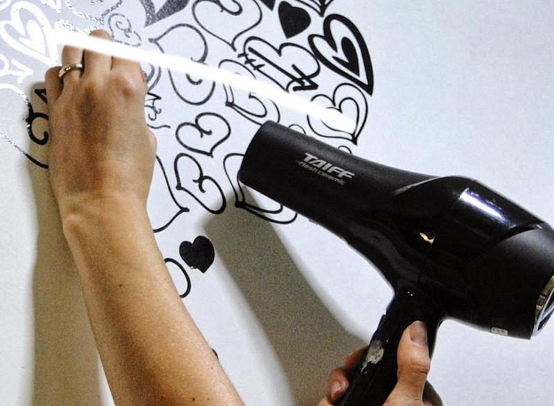 Ventilador de teto Spirit - Blog Myspirit - como remover adesivo sem estragara a parede - adesivos de parede para quarto de bebê