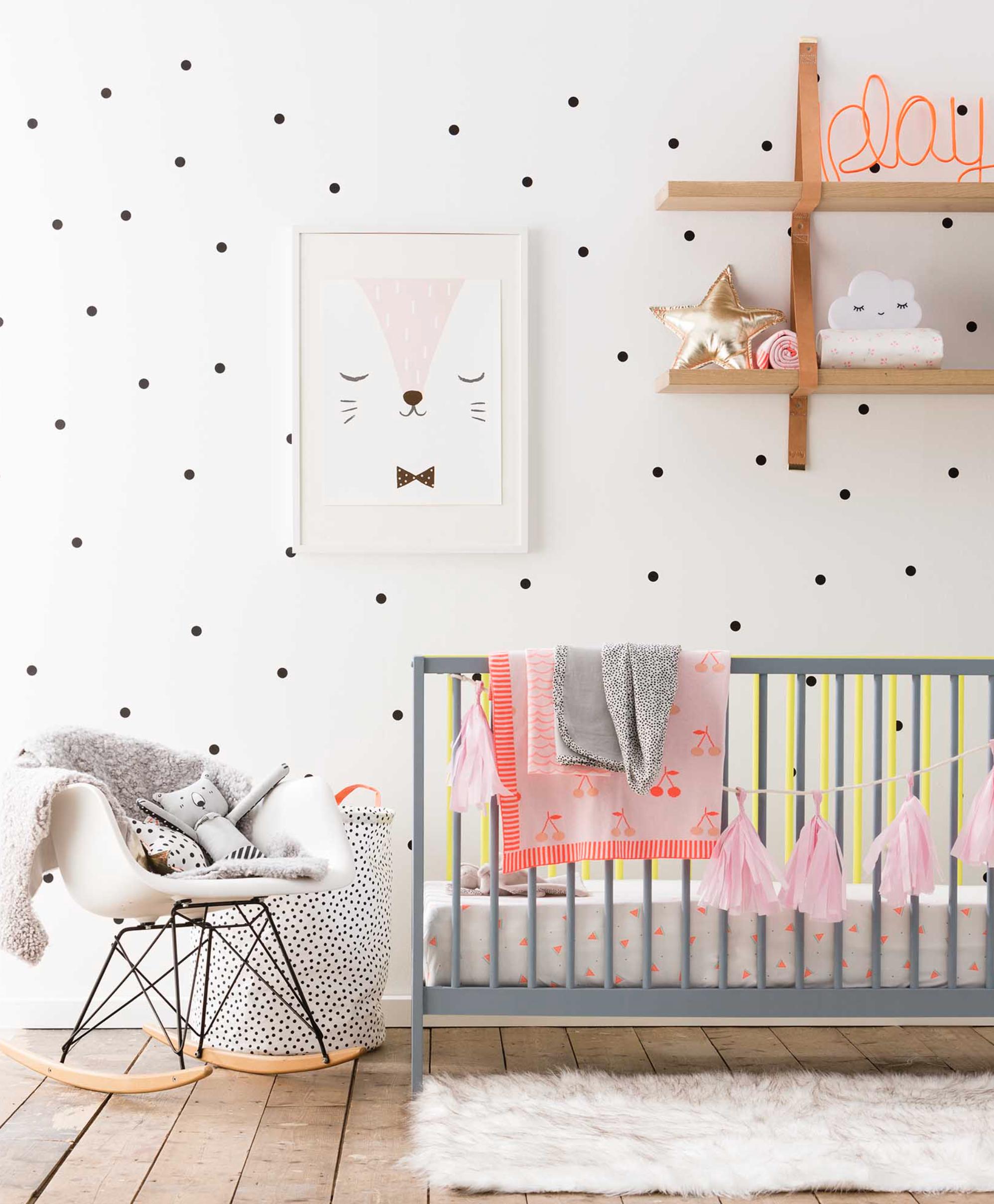 Ventilador de teto Spirit - Blog Myspirit - adesivo de bolinha para quarto de bebê - adesivos de parede para quarto de bebê