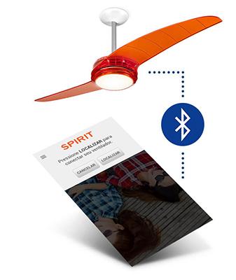 Ventiladores e luminárias Spirit - Blog Myspirit - ventilador de teto controlado por bluetooth - ventilador de teto controlado por smartphone