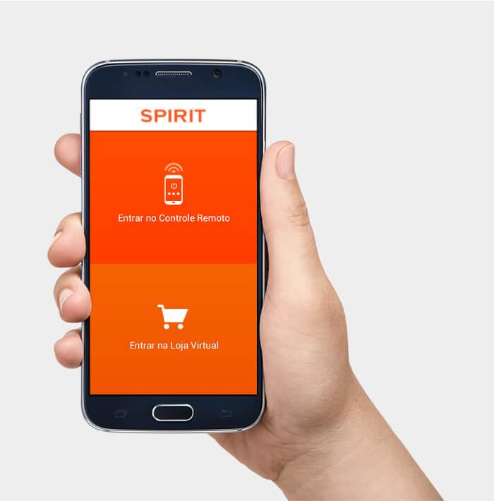 Ventilador de teto Spirit - Blog Myspirit - loja virtual SPIRIT no aplicativo - Ventilador de teto controlado por smartphone