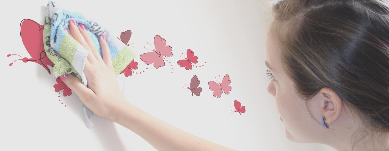 Ventilador de teto Spirit - Blog Myspirit - como limpar adesivos de parede - adesivos de parede para quarto de bebê