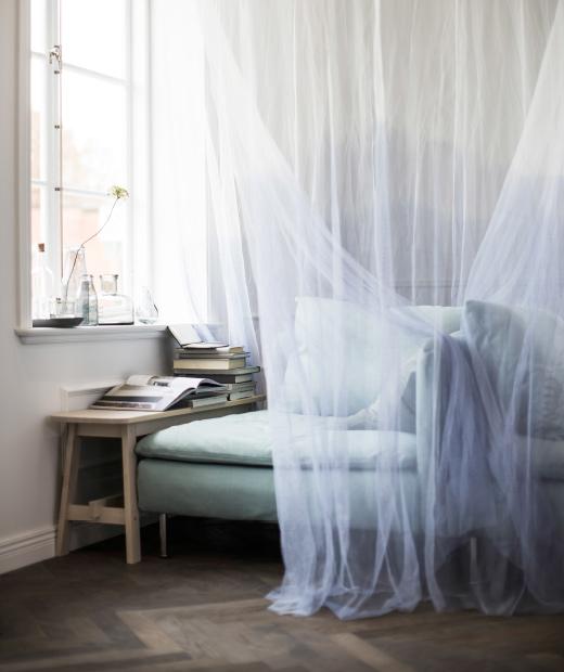 Ventilador de teto Spirit - Blog Myspirit - Sofá com dossel - relaxar a mente