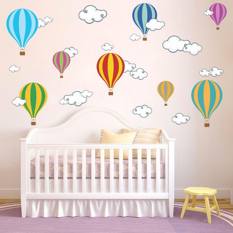 ventilador de teto Spirit - Blog myspirit - adesivo de parede balões - adesivos de parede para quarto de bebê