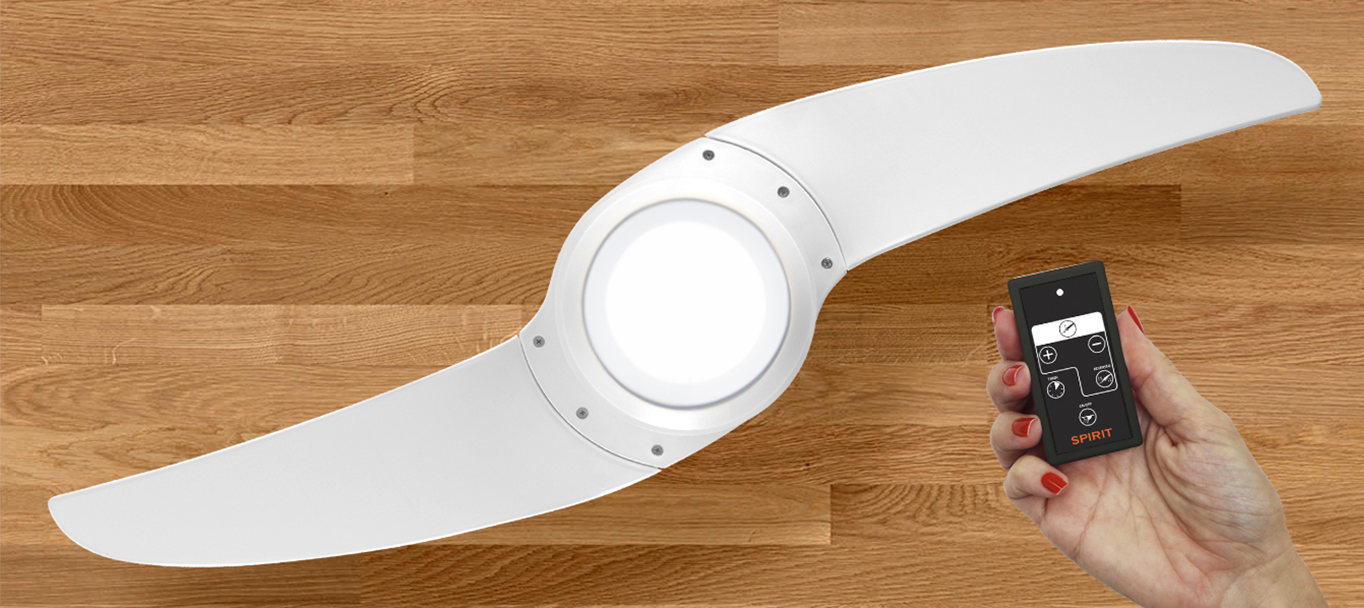Ventiladores e luminárias Spirit - Blog Myspirit - controle remoto do ventilador de teto