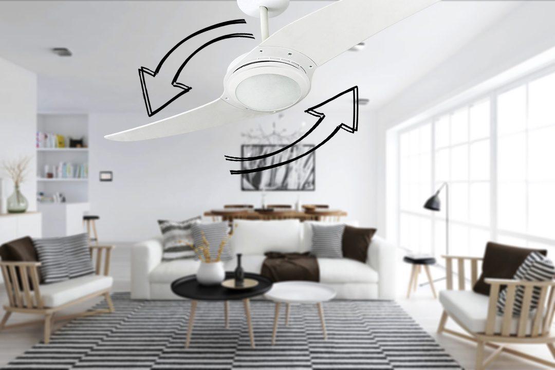 Ventiladores e luminárias Spirit - Blog Myspirit - como usar a função exaustão do ventilador de teto - função exaustão do ventilador de teto