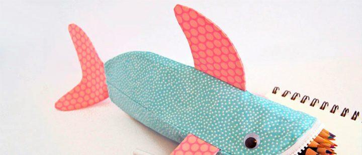 Ventilador de teto Spirit - Blog Myspirit - estojo escolar de tubarão - tubarão - como fazer estojo escolar de tecido