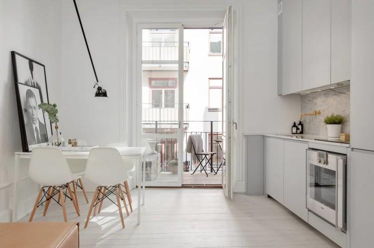 Ventilador de teto Spirit - Blog Myspirit - cozinha com decoração minimalista - decoração minimalista