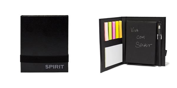 Ventilador de teto Spirit - Blog Myspirit - Kit para anotações SPIRIT - como fazer estojo escolar de tecido