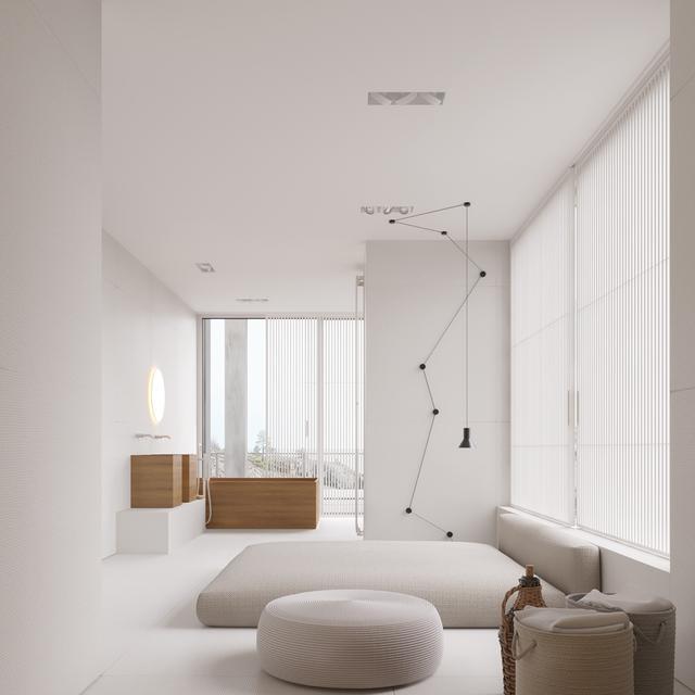 Ventilador de teto Spirit - Blog Myspirit - quarto branco - decoração minimalista
