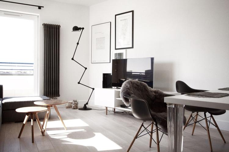 Ventilador de teto Spirit - Blog Myspirit - Sala minimalista - decoração minimalista