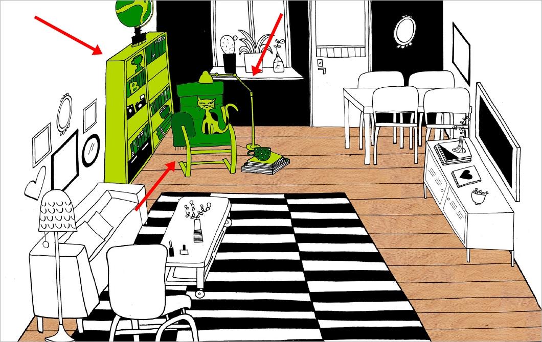 ventilador de teto Spirit - Blog Myspirit - sala de estar com espaço para leitura - sala de estar