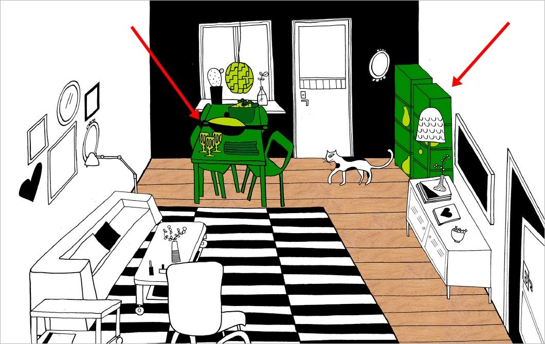 ventilador de teto Spirit - Blog Myspirit - sala de estar com mesa de jantar - sala de estar