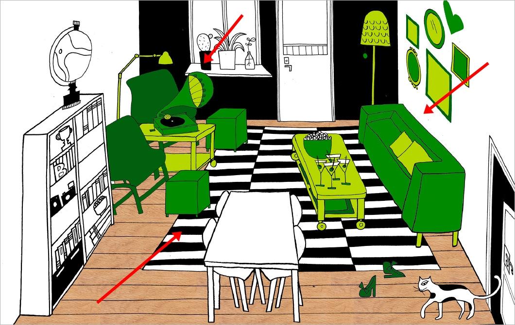 Ventilador de teto Spirit - Blog Myspirit - Sala de estar com espaço para receber os amigos - sala de estar