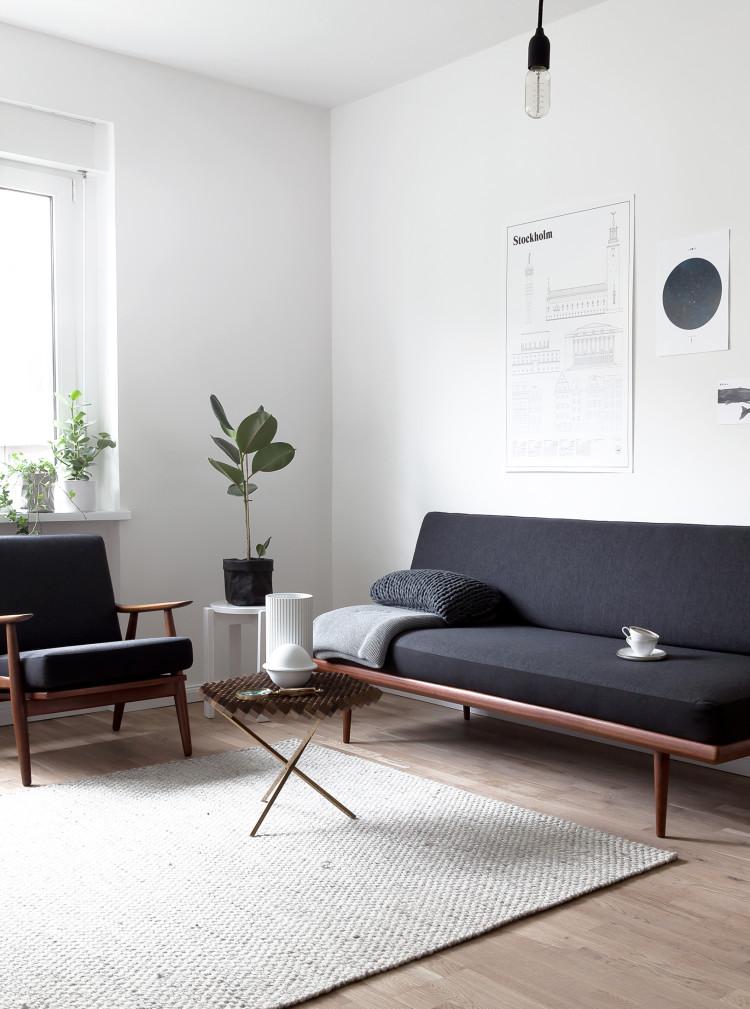 Ventilador de teto Spirit - Blog Myspirit - Sugestão de decoração minimalista para a sala - decoração minimalista