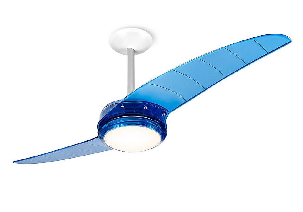 Ventilador de teto Spirit - Blog Myspirit - ventilador de teto Spirit Azul - como fazer estojo escolar de tecido